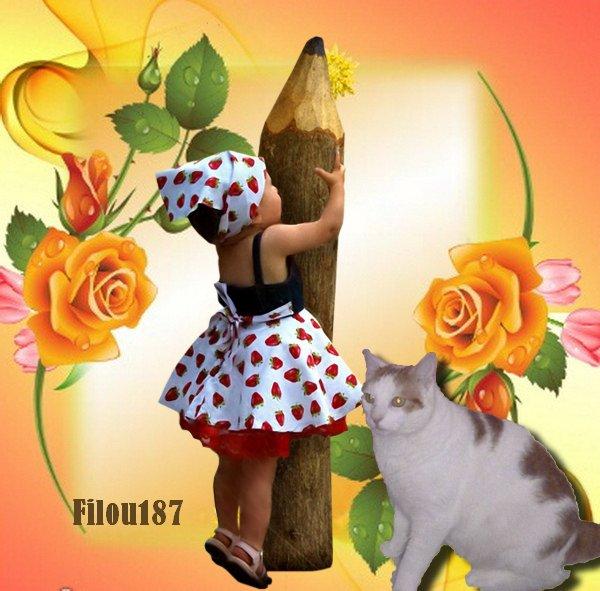 ♥ ♥ Bonne semaine à vous les ami(e)s!!Merci pour votre gentillesse.............♥ ♥