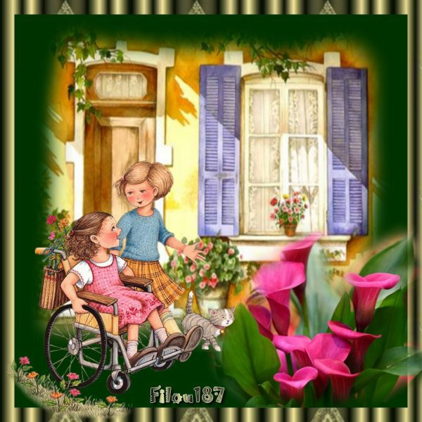 Bonjour les ami(e)s..............Bon week end !!