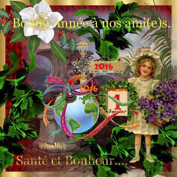 Bonheur à tous mes visiteurs!!