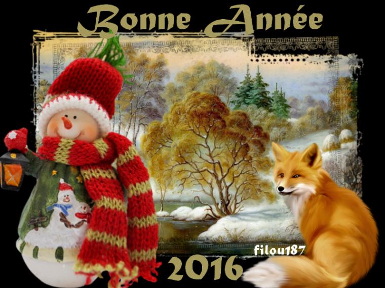 Bonne fin d'Année 2015......