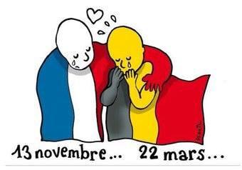 De tout coeur avec mes amis Belge