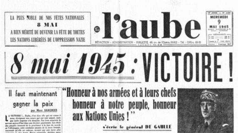 8 Mai 1945-----8 Mai 2016