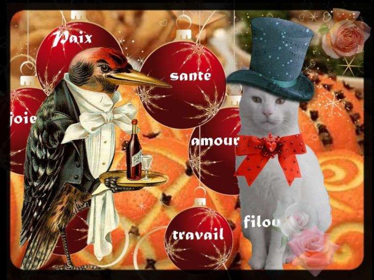 Bonne fin d'Année les copinettes et copinotes.......