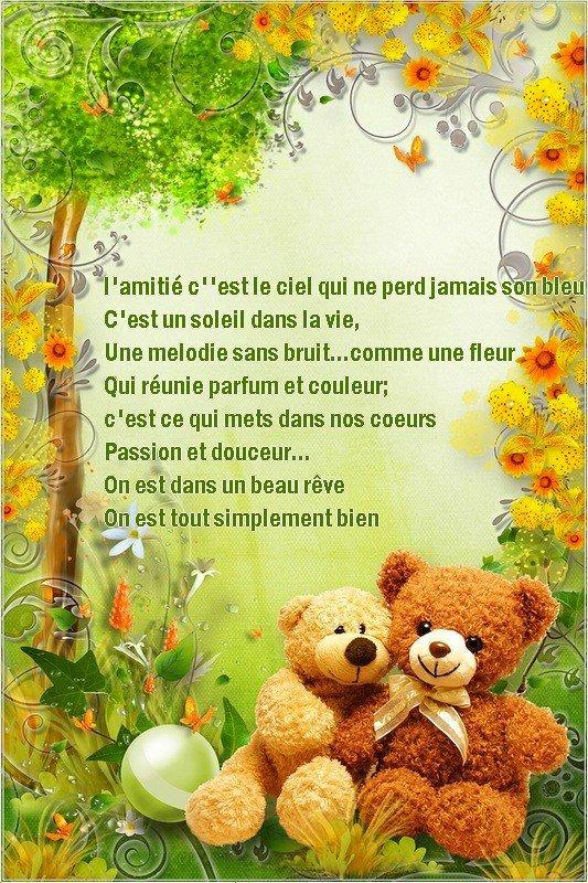 Bonjour les z'ami(e)s.....