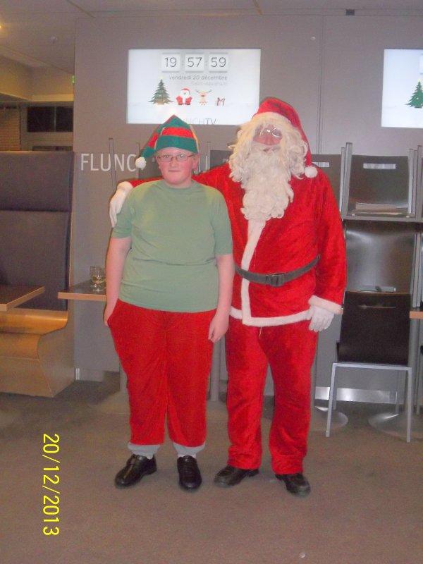 Démo à Flunch le 20 décembre