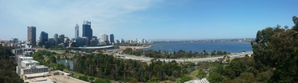 ville de PERTH - western Australia