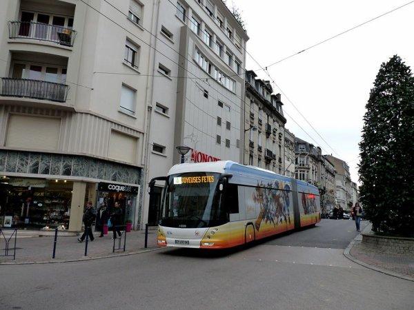trolleybus HESS4  LIMOGES