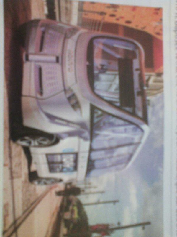 Premier bus sans chauffeur ARMA