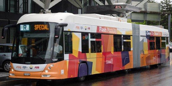HESS 4 Trolleybus
