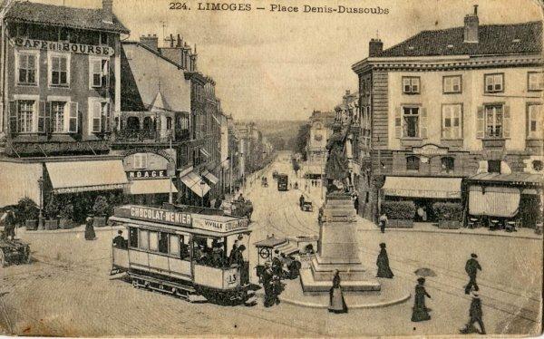 Limoges ancien (place denis-dussous)