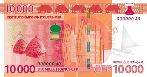 10 000 Francs CFP