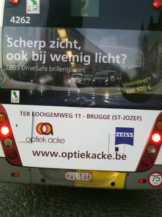 Bus de BRUGES