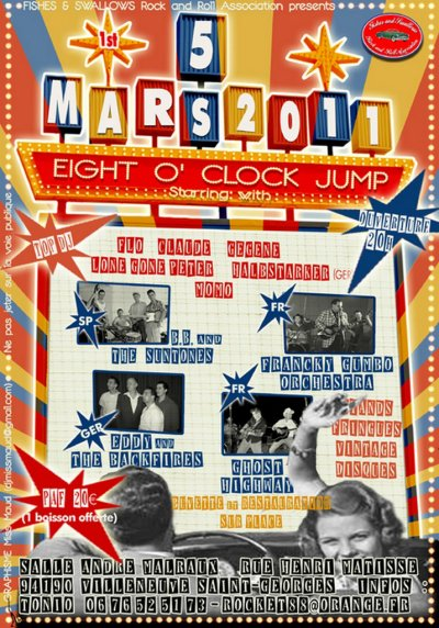Eight O' Clock Jump - Mars 2011