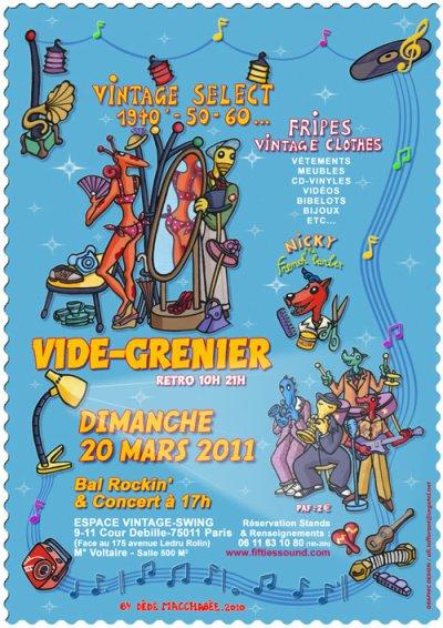 LA BROC'N'ROLL ! LE VIDE-GRENIER VINTAGE  !  !  !