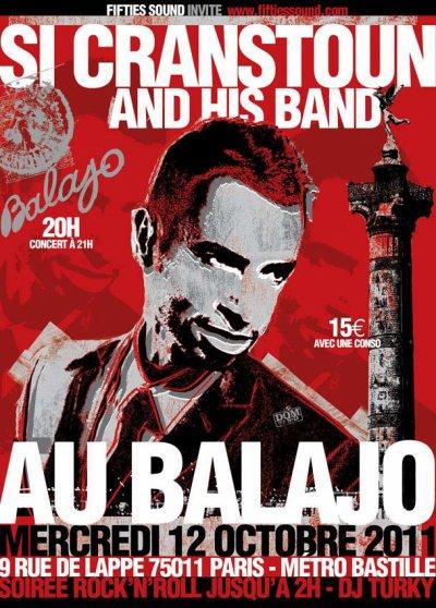 SI CRANSTOUN au Balajo !