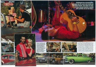 POWERGLIDE - Article sur le Kustom Tattoo  Festival 6 à Parmain (sept 2011)