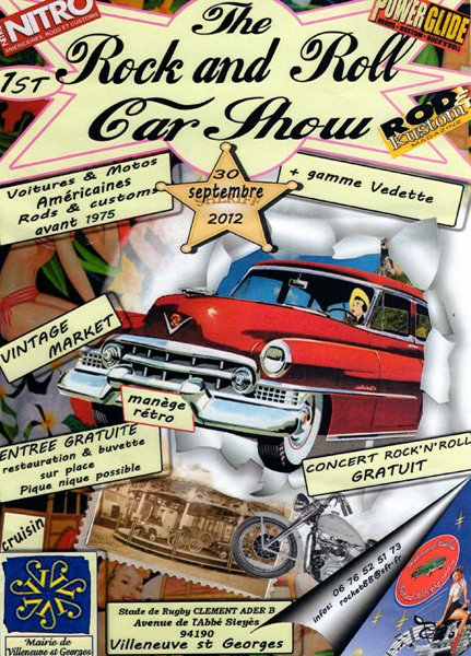 ROCK AND ROLL CAR SHOW 1