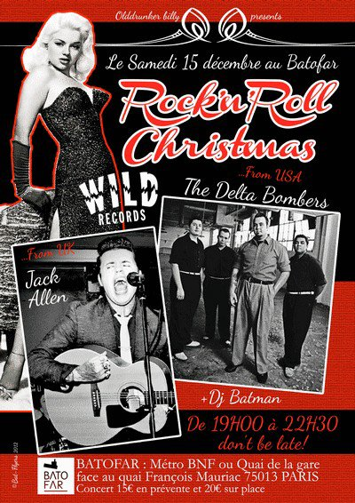 Rock'n'Roll Chrismas !