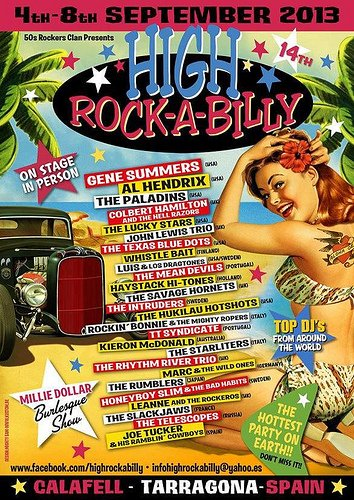 HIGH ROCK-A-BILLY 2013 (Espagne)... by Mario !