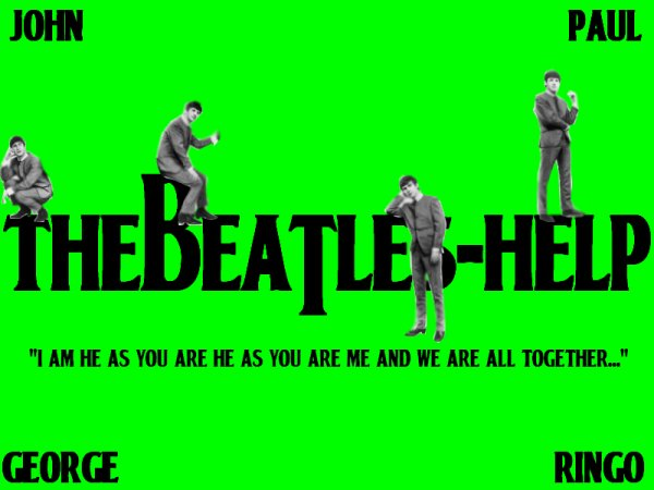 Rejoins le groupe des Beatles [Help me please ! I'm a Beatles' fan !]