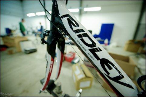 maillot et vélos equipe pro 2012