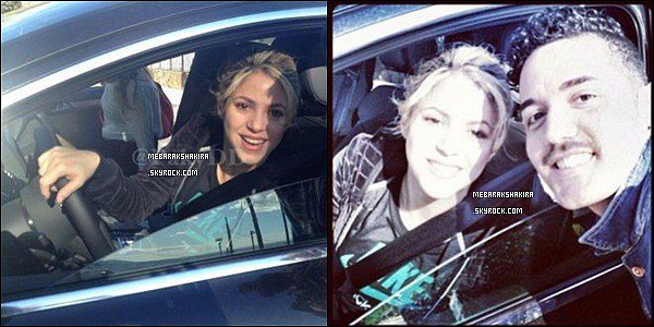 10 mars 2013 : Shakira, Gérardet leur filsMilanétaient au restaurant Miramar Bar à Barcelone + Shakira a pris une photo avec un fan. Elle est vraiment adorable avec sa casquette, j'aime bien sa tenue décontractée.