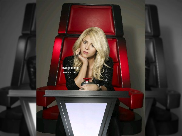 Nouvelles photos de Shakira & des autres coach de The Voice USA pour la saison 4. Pour cette 4eme saison de The Voice aux Etats-Unis, Shakira & Usher remplaceront Christina Aguilera & Cee Lo Green.
