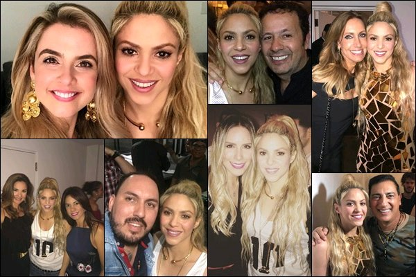 25 mai 2017 : Shakira sur le tapis rouge de son événement pour le lancement d'El Dorado à Miami Elle est MAGNIFIQUE !! J'adore sa robe dorée, parfaite en rapport avec le titre de l'album, et son sourire *___*