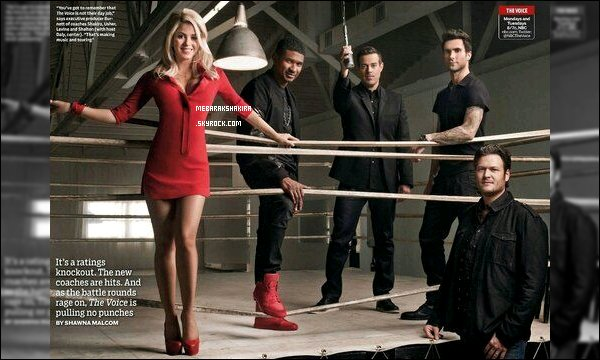 Nouvelle photo promotionnelle pour la 4eme saison de The Voice