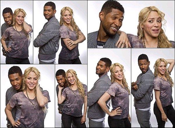 22 avril 2013 :Shakira & Usheront réalisés un nouveau photoshoot pour The Voice Les deux coach de The Voice sont super sur ces photos ! J'aime beaucoup leur complicité que l'on peut voir sur ces photos.