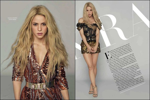 Juillet 2017 - Shakira est en couverture du magazine mexicain VANIDADES Cette couverture est juste une tuerie ! J'adore sa robe ainsi que sa couronne, ce look lui va vraiment à ravir :D