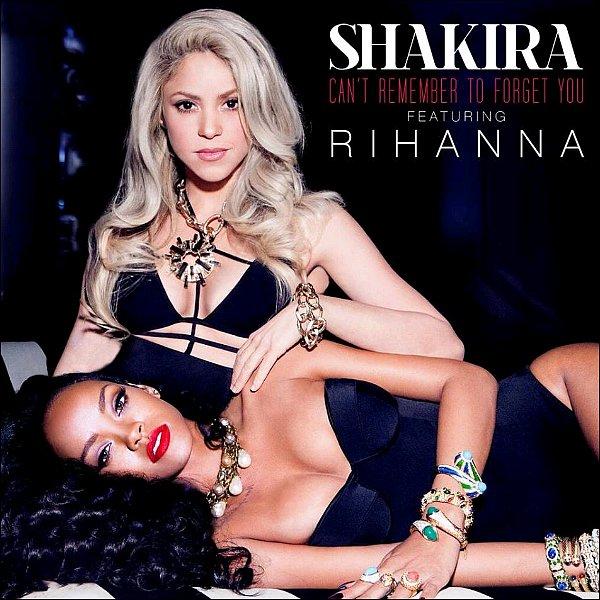 13/01/2016 : Can't Remember to forget you fête ses deux ans ! Shakira a posté une photo de la pochette du single en duo avec Rihanna. On ne se lasse toujours pas de les regarder =D