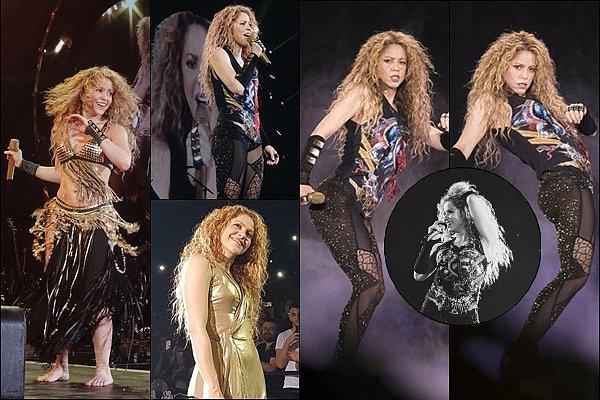 13 Juin 2018 : Shakira a continue sa tournée, elle a donné un concert à l'Accorhotels Arena de Paris  Shakira était éblouissante ! C'était génial de la revoir à Bercy, cela faisait 7 ans qu'elle n'y avait pas été et quel retour !