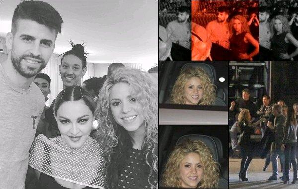 21 Novembre 2015 : Shakira et Gerardétaient de sortie dans une boîte de nuit à Barcelone - Dommage qu'il n'y ai pas plus de photos et surtout de meilleur qualité du couple Piqué-Mebarak lors de cette soirée -