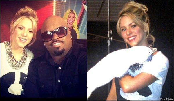 17 mai 2013 :Shakira & Cee Lo Green ont donnéune interview pour promouvoir l'émissionThe Voice. Cee Lo Green a lui aussi été coach dans The Voice US. Plus une super photo de S. avec une perruche, elle est sublime *_*