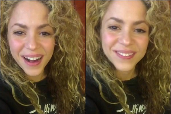 29 Janvier 2018 : Shakira a posté plusieurs vidéos pour remercier pour son Grammy Shakira a remporté le Grammy du Meilleur Album Pop Latina avec EL DORADO, Bravo à elle, c'est mérité  ♥