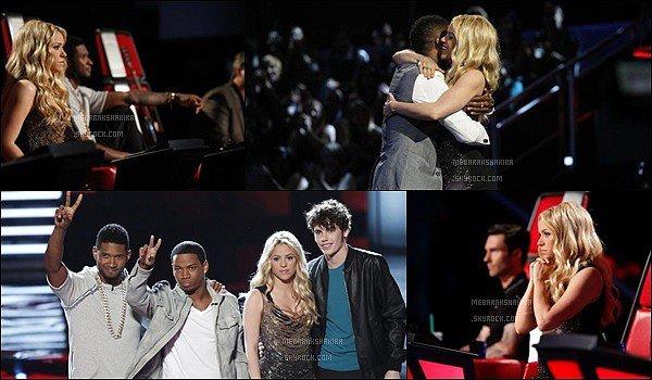 14 mai 2013 : Shakiraétait sur le tapis rouge de The Voice.S. portait une jolie robe noir drapé de paillettes. La belle colombienne a donné une interview ades journalistesconcernant The Voice, son nouvel album... Comment la trouvez-vous ?