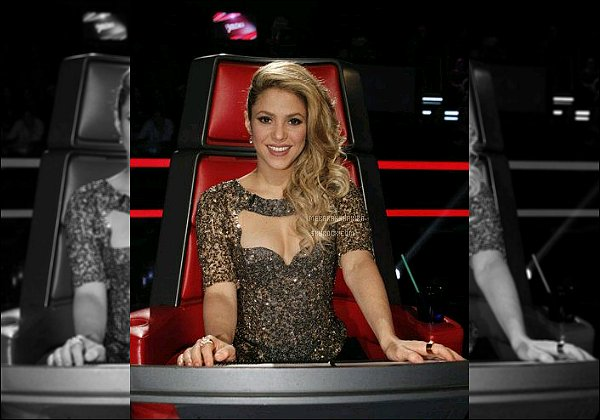 THE VOICE ● EPISODE 3 Juin 2013 ● Nouvelle Photo promotionnelle de  Shak pour The Voice J'aime beaucoup le haut que porte la belle colombienne. Le décolleté est assez original, ça la met en valeur, un TOP une fois encore :)