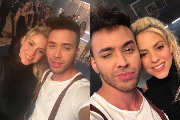 20 février 2017 : Shakira et Prince Royce ont postés des photos lors du tournage du clip de Deja Vu Ils sont magnifiques tous les deux ! J'ai hâte de voir le résultat, Shakira est ravissante et d'une simplicité *__*, c'est parfait ! ♥