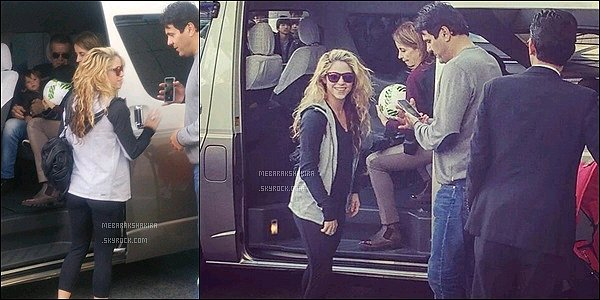 16 décembre 2015 : Shakira et sa famille sortant de leur hôtel Royal Park au Japon S. est toute jolie avec ses cheveux bouclés. J'aime assez sa tenue : pratique & confortable, parfait pour la jolie maman !