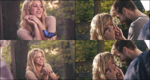 """Voici le Behind The Scene du clip de """"Me enamoré"""" où apparaît Gerard Piqué C'est intéressant de voir comment une partie  du clip a été tourné et de voir que Sasha était également sur le tournage :)"""