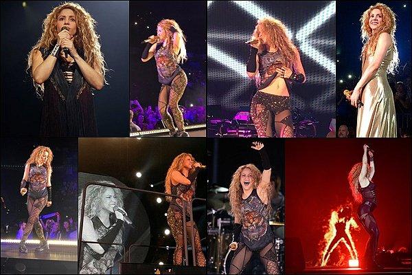 3 Juin 2018 : Shakira a tout déchiré à Hambourg lors de son premier concert pour l'El Dorado World Tour Shakira était vraiment FANTASTIQUE !!  Ses tenues de scènes sont juste incroyables et quelle énergie, une vraie lionne *_*