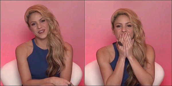 21 décembre 2016 : Shakira a posté une vidéo en nous souhaitant de Joyeuses fêtes Shakira était encore une fois sublime dans cette vidéo ! Elle est adorable, avez-vous envie d'acheter ou offrir un de ses parfums ? :)