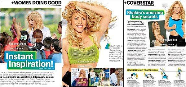 Septembre 2013, extrait du magazine SELF dont Shakira fait la couverture + Voici quelques photos lors de ce photoshoot, Shakira était superbe sur toutes les photos !