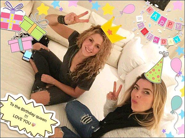 2 février 2016 : Kathy Kopp, amie de S. a posté une jolie photo sur Twitter pour l'anniversaire de la belle J'aime beaucoup cette photo, elles sont adorables toutes les deux ! :) Encore une fois nous lui souhaitons un très bon anniversaire♥.
