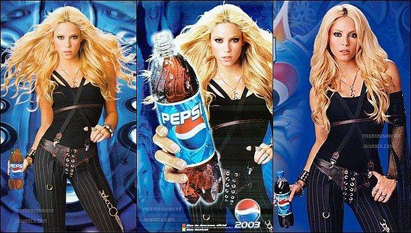 En 2003 notre belle colombienne préféré a fait de la publicité pour la marque de soda Pepsi J'aime beaucoup ces photos, elle est superbe dessus et la vidéo publicitaire est amusante, j'adore le vendeur :p qu'en pensez-vous ?