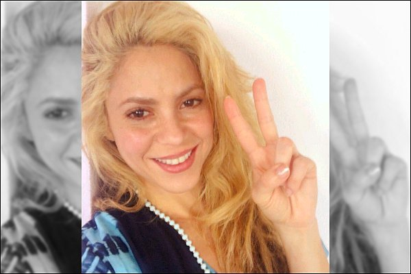 """20 décembre 2016 : Shakira a posté une nouvelle photo d'elle sur les réseaux sociaux, elle est adorable♥ Légende du poste de la jolie colombienne : """"200 Millions de vues pour Chantaje en un mois ! Merci beaucoup, Shak"""" Félicitations à elle :D"""