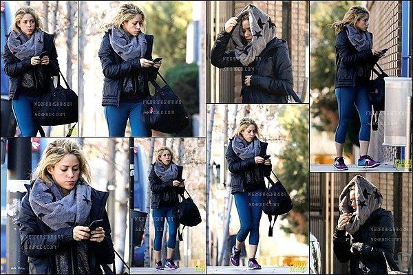 2 mars 2016 : Shakira et Gerard ont pris une photo avec une fan àGranja d'Aventura Park à Barcelone Ils sont mignons tous les deux, la belle colombienne était très souriante encore une fois, j'aime assez sa tenue, pratique pour l'occasion.