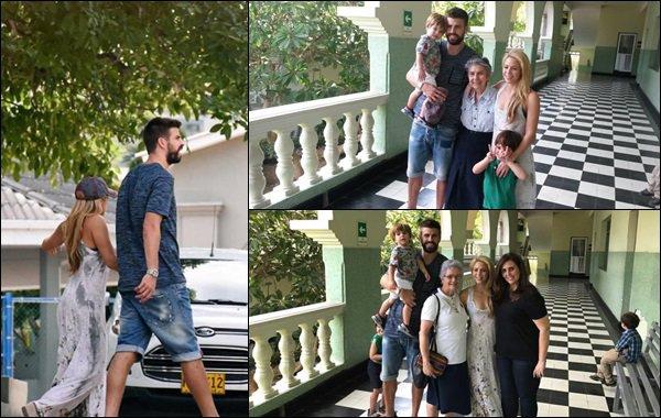 27 décembre 2016 : Shakira, Gerard ainsi que ses parents sont aller faire un tour en bateau Shakira semble assez proche de sa belle-famille, ça fait plaisir à voir ! Elle a l'air heureuse de passer du temps dans son pays