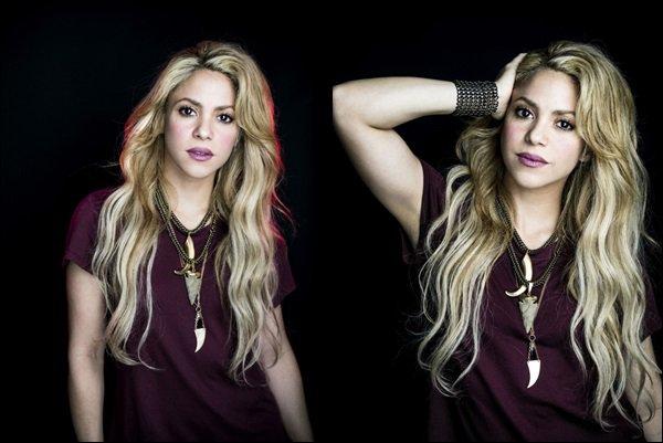 07-17 - La magnifique Shakira est en couverture du magazine italien TU STYLE J'aime beaucoup ces photos, Shakira est très simple et nature comme à son habitude, j'aime bien ses colliers et ses cheveux *___*